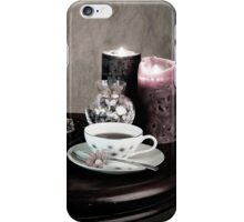 Olde Time Tea Party Setting for One iPhone Case/Skin
