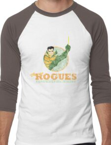 ROGUES: WEATHER DISTRESSED Men's Baseball ¾ T-Shirt