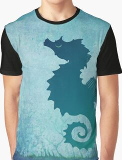 Seahorse of a Different Color ~ Marine Life Graphic T-Shirt
