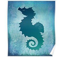 Seahorse of a Different Color ~ Marine Life Poster