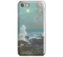 Vintage famous art - Childe Hassam - Seascape-Isle Of Shoals iPhone Case/Skin