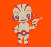 Space Robot  Kids Tee