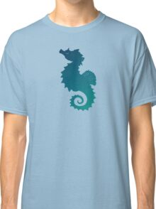 Seahorse of a Different Color ~ Marine Life Classic T-Shirt