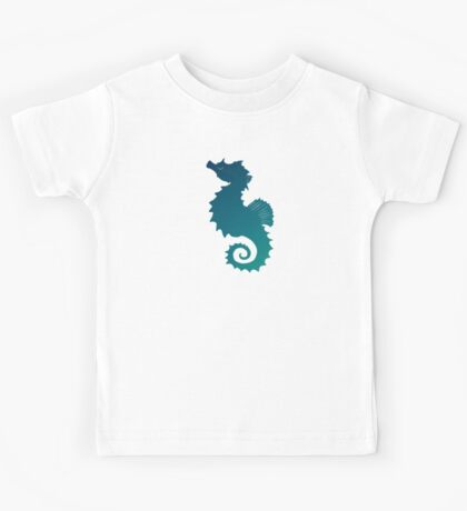 Seahorse of a Different Color ~ Marine Life Kids Tee