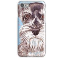 Miniature German Schnauzer  iPhone Case/Skin