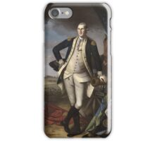 Vintage famous art - Charles Willson Peale - George Washington iPhone Case/Skin