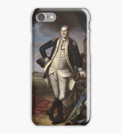 Vintage famous art - Charles Willson Peale - George Washington iPhone Case/Skin
