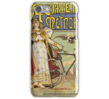 Vintage famous art - Charles Tichon - After Lucien Baylac - Acatene Metropole Poster  iPhone Case/Skin