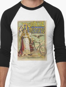 Vintage famous art - Charles Tichon - After Lucien Baylac - Acatene Metropole Poster  Men's Baseball ¾ T-Shirt