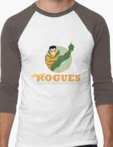 ROGUES: WEATHER  Men's Baseball ¾ T-Shirt