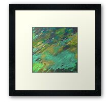 THE TRANQUIL SEA Framed Print