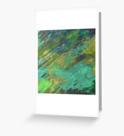 THE TRANQUIL SEA Greeting Card