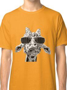Giraffe With Eyeglass Classic T-Shirt
