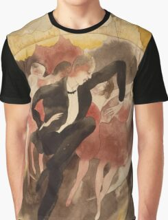 Vintage famous art - Charles Demuth - In Vaudeville (Dancer With Chorus) Graphic T-Shirt