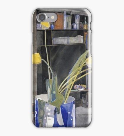Vintage yellow art - Charles Rennie Mackintosh  - Yellow Tulips iPhone Case/Skin