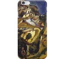 Vintage famous art - Chaim Soutine - Landscape At Cagnes iPhone Case/Skin