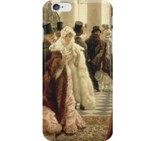 Vintage famous art - James Tissot - The Woman Of Fashion iPhone Case/Skin