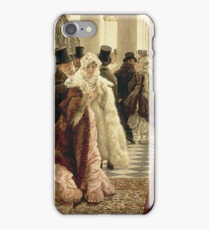Vintage famous art - James Tissot - The Woman Of Fashion iPhone Case/Skin