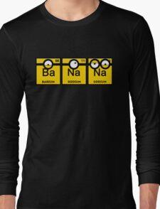 Minion Banana Periodic Table Long Sleeve T-Shirt