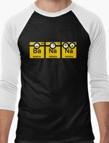 Minion Banana Periodic Table Men's Baseball ¾ T-Shirt