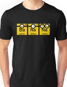 Yellow Banana Periodic Table Unisex T-Shirt