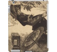 Vintage famous art - James Tissot - The Hammock  iPad Case/Skin