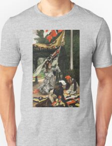 Vintage famous art - James Tissot - Still On Top Unisex T-Shirt