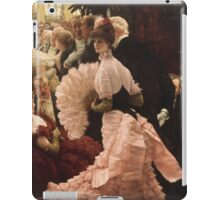 Vintage famous art - James Tissot - Political Woman iPad Case/Skin