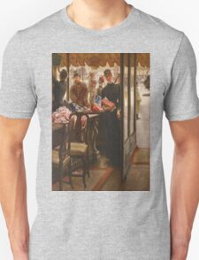 Vintage famous art - James Tissot - La Demoiselle De Magasin1878  Unisex T-Shirt