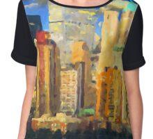 New York City II - Manhattan Chiffon Top