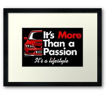 Passion of EVO Framed Print