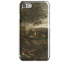 Vintage famous art - Jacques D Arthois - View Said To Be Of Val Duchesse iPhone Case/Skin