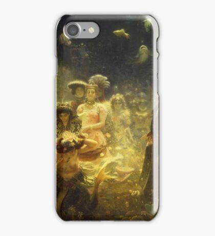 Vintage famous art - Ilya Repin - Sadko 1876 iPhone Case/Skin