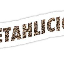 CHEETAHLICIOUS TEE Sticker