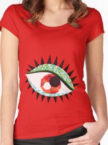 Dreamy Eye Women's Fitted Scoop T-Shirt