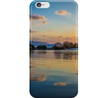 Sunset over the mediterranean sea, Haifa, Israel  iPhone Case/Skin