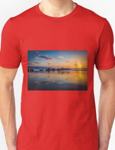 Sunset over the mediterranean sea, Haifa, Israel  Unisex T-Shirt