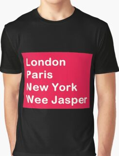 Where in the world? Graphic T-Shirt