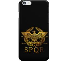 SPQR Rome  iPhone Case/Skin