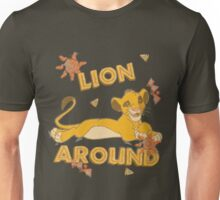 Simba - Lion King - Lion Around Unisex T-Shirt