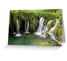 Plitvice Lakes National Park 06 Greeting Card