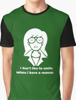 i dont like to smile Graphic T-Shirt