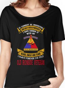 Military - 1st Ad The Title Women's Relaxed Fit T-Shirt