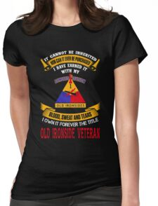 Military - 1st Ad The Title Womens Fitted T-Shirt