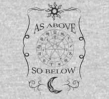 As Above So Below Design Unisex T-Shirt
