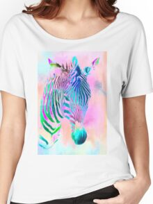 Zebra two Women's Relaxed Fit T-Shirt