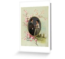 Outlander/Jamie and Claire frame Greeting Card