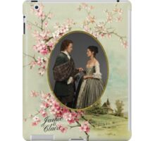 Outlander/Jamie and Claire frame iPad Case/Skin