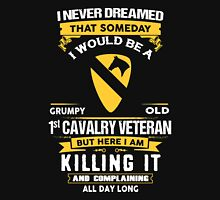 Military - 1st Cavalry Division Grumpy Unisex T-Shirt