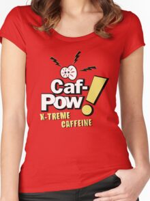 Caf-Pow - X-Treme Caffeine Variant Women's Fitted Scoop T-Shirt